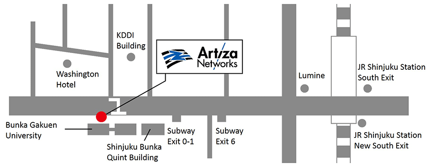 Artiza Shinjyuku-office-map